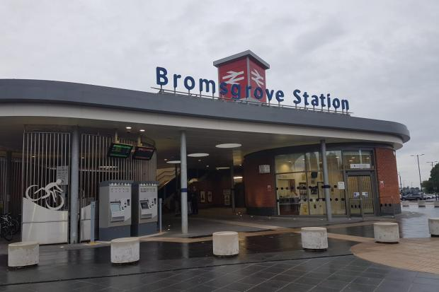 STATION:  Bromsgrove Railway Station