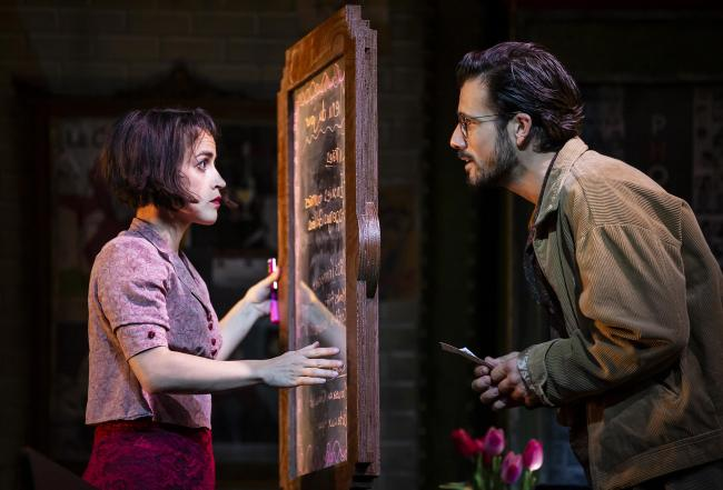 ON RELECTION: Audrey Brisson and Danny Mac star as Amelie and Nico in Amelie the Musical.