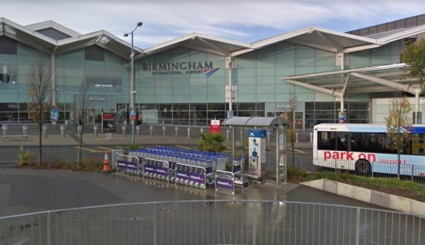 Droitwich Advertiser: Birmingham International Airport. Pic - Google Street View