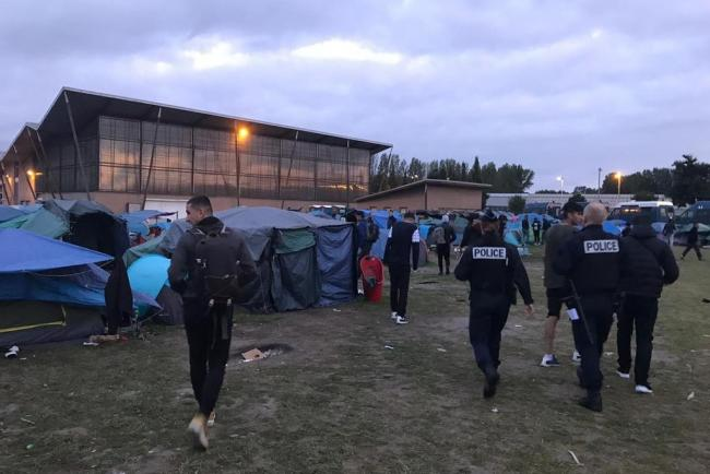 Fresh migrant camp eviction revives fears of Channel crossing spike |  Droitwich Advertiser