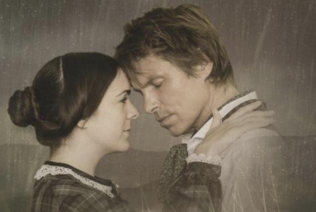 LOVE STORY: Kelsey Short and Ben Warwick  feature in Charlotte Bronte's Jane Eyre.
