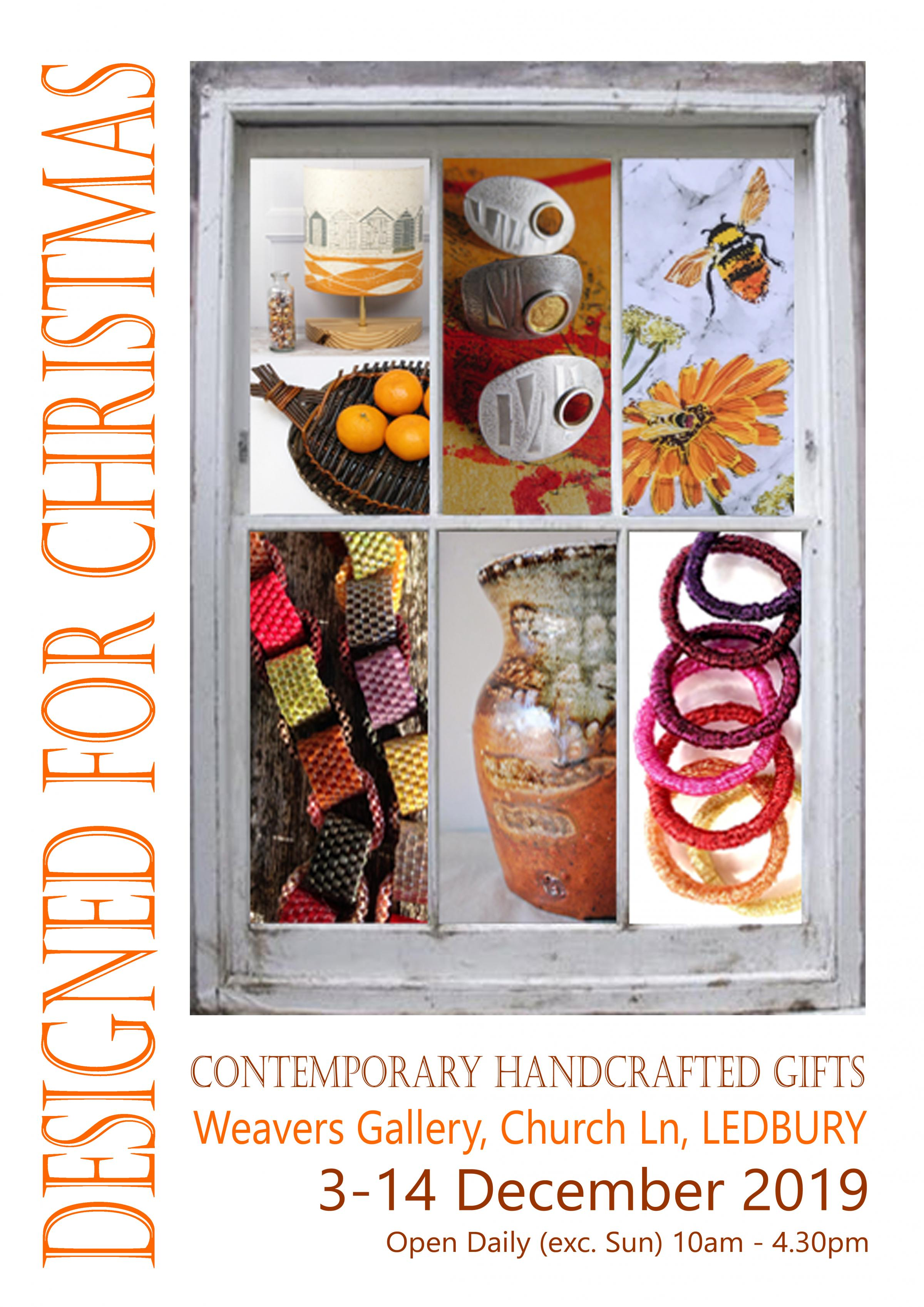 Designed for Christmas - contemporary craft