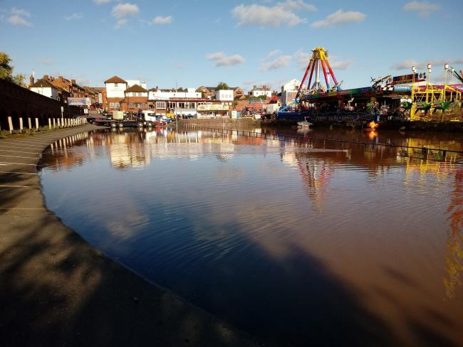 Flooding in Stourport last month. PIC: Camera Club
