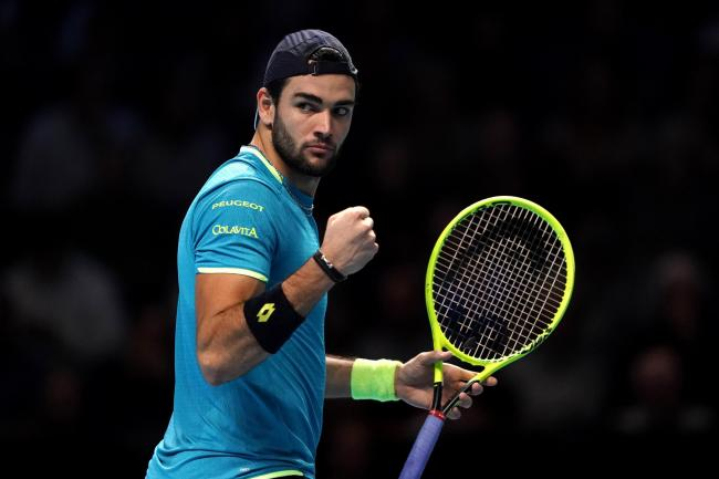 Matteo Berrettini finished his London campaign with a win over Dominic Thiem
