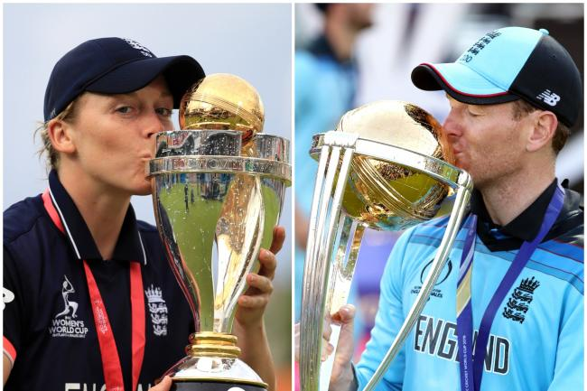 London Spirit name World Cup winners Eoin Morgan and Heather Knight as captains