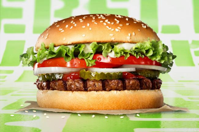 The Rebel Whopper from Burger King