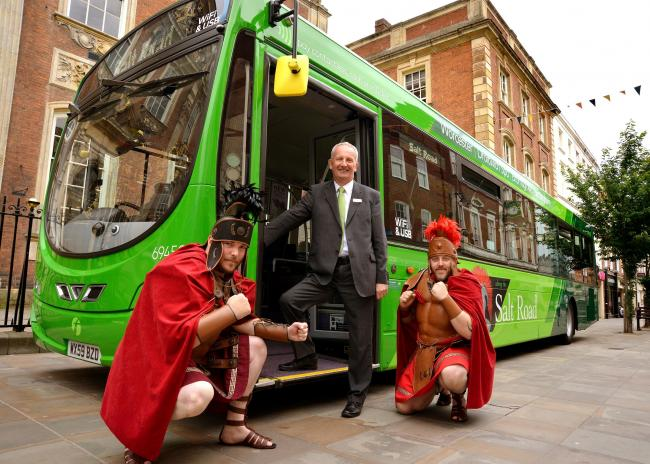 BUSES: The launch of the Salt Road route with First's Nigel Eggleton