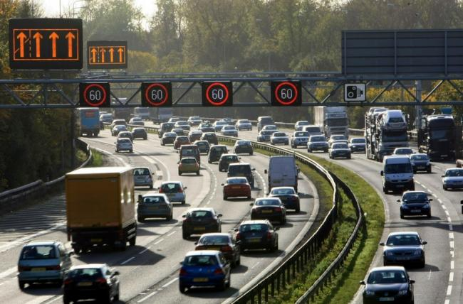 What you should do if you break down on a smart motorway. Pic credit: RAC