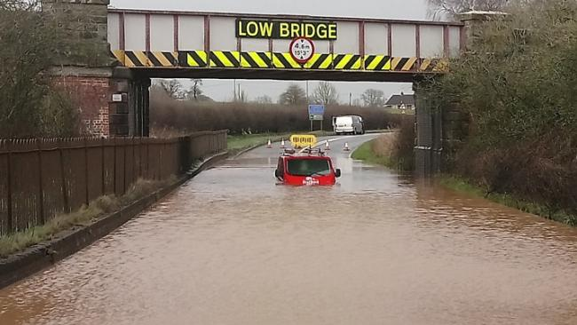 FLOODING: In Tenbury Wells is catastrophic