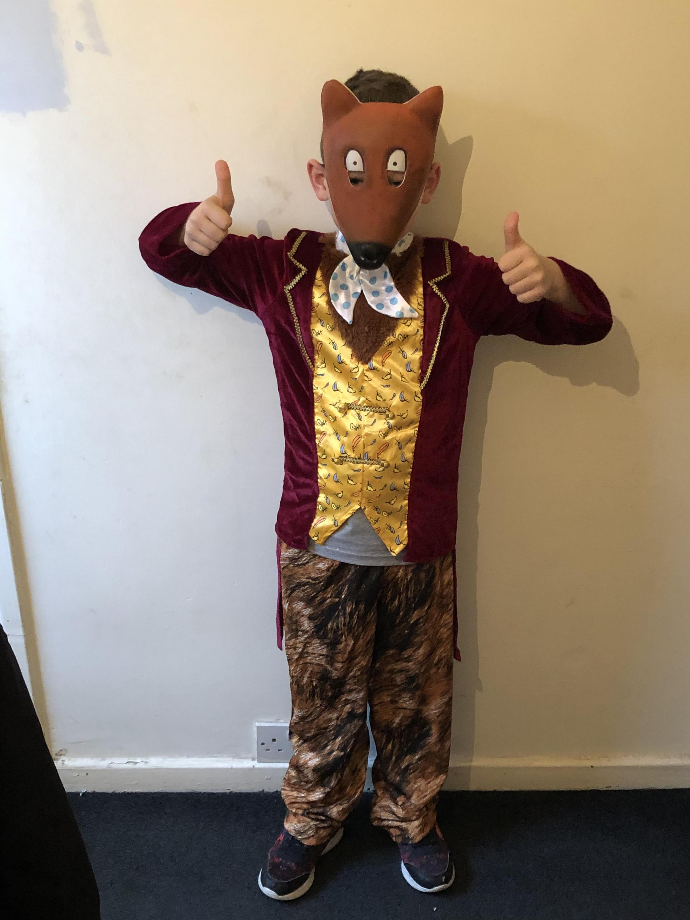 Droitwich Advertiser: Kai Gibbons from AlcesterAge 6Fantastic Mr Fox