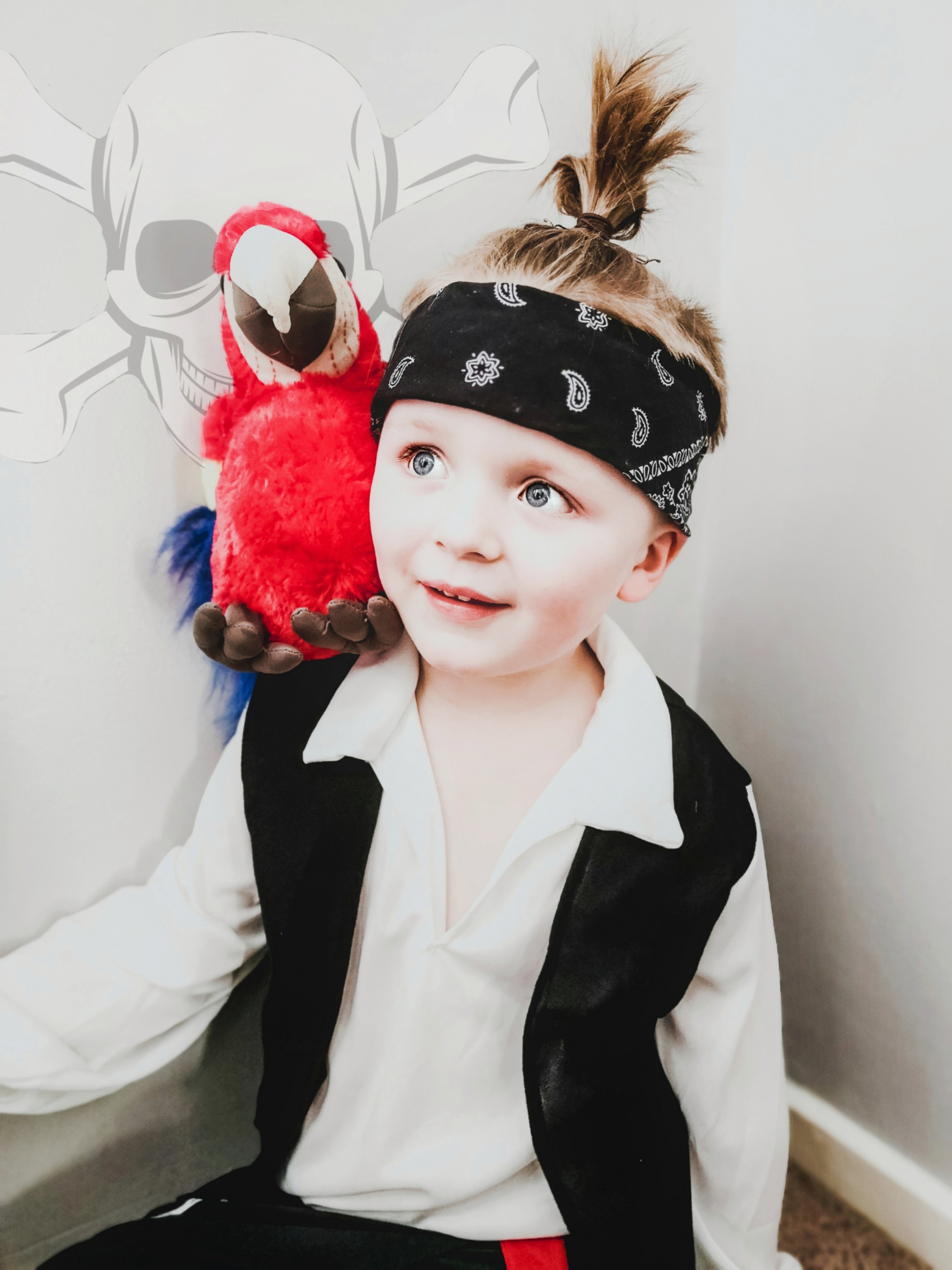 Droitwich Advertiser: Fletcher aged 5 as a pirate