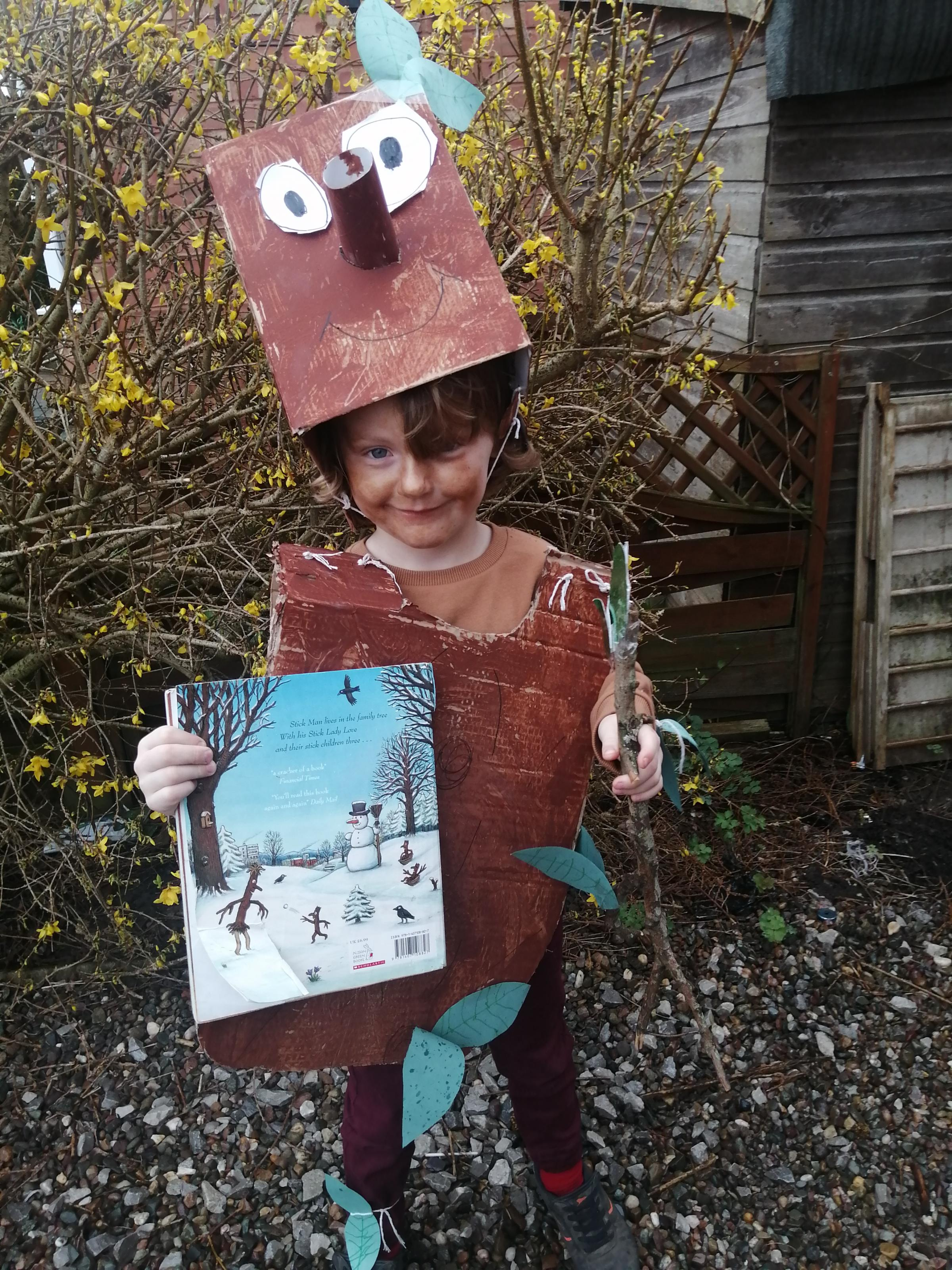 Droitwich Advertiser: We have Riley-Jay as highway rat. Jacob as stickman and isabelle as room on the broom. There favourites.