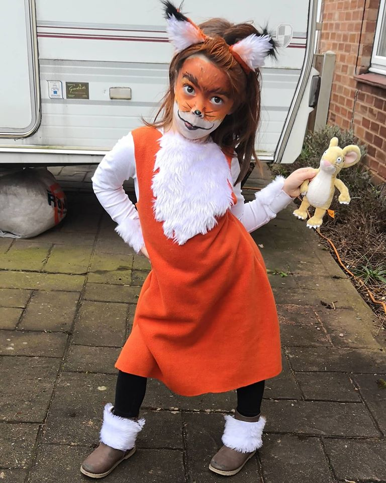 Droitwich Advertiser: Ivy, aged 5, Franche primary school as Fox from the Gruffalo.