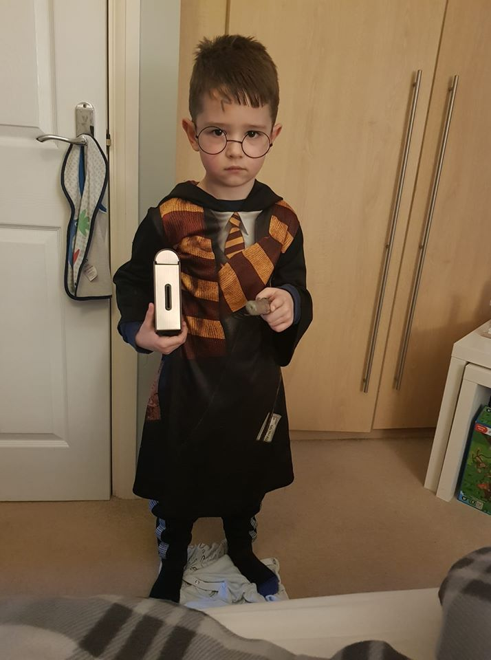 Droitwich Advertiser: Casey Fox, 6 yrs, St Catherines (marlpool) as Harry potter.