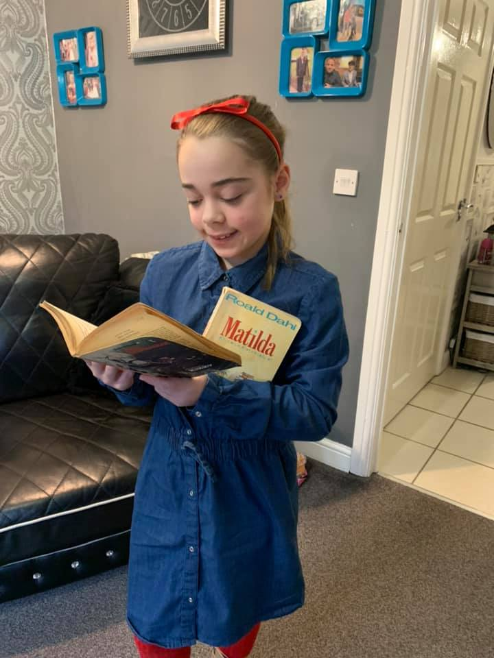 Droitwich Advertiser: Mimi, as Matilda