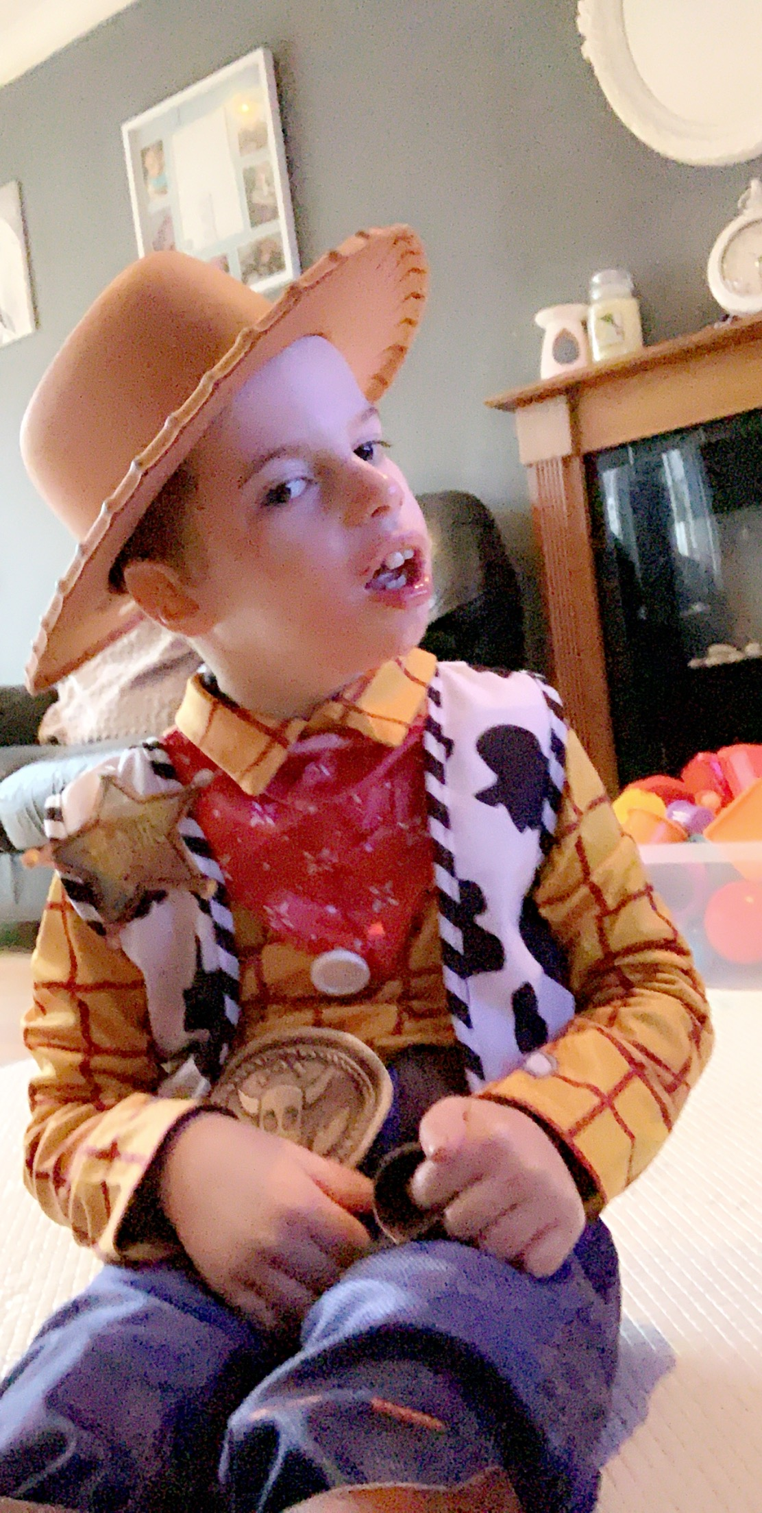 Droitwich Advertiser: Harley Hirons Age 7 Wyre forest school Woody- toy story