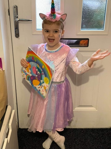 Droitwich Advertiser: Edith Gillam, age 5 , Comberton primary school