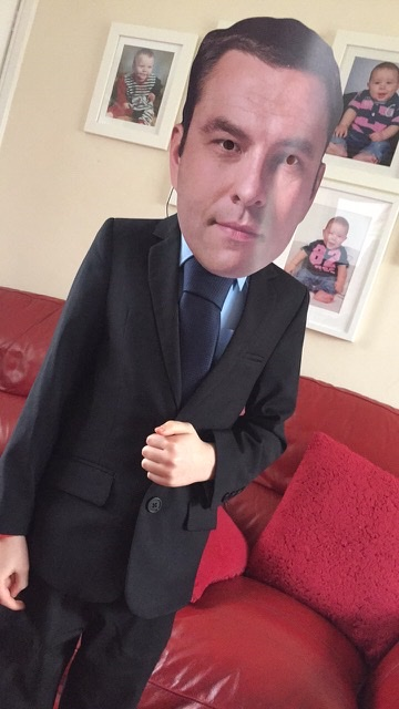 Droitwich Advertiser: AJ Breakwell as David Walliams from Franche Primary School