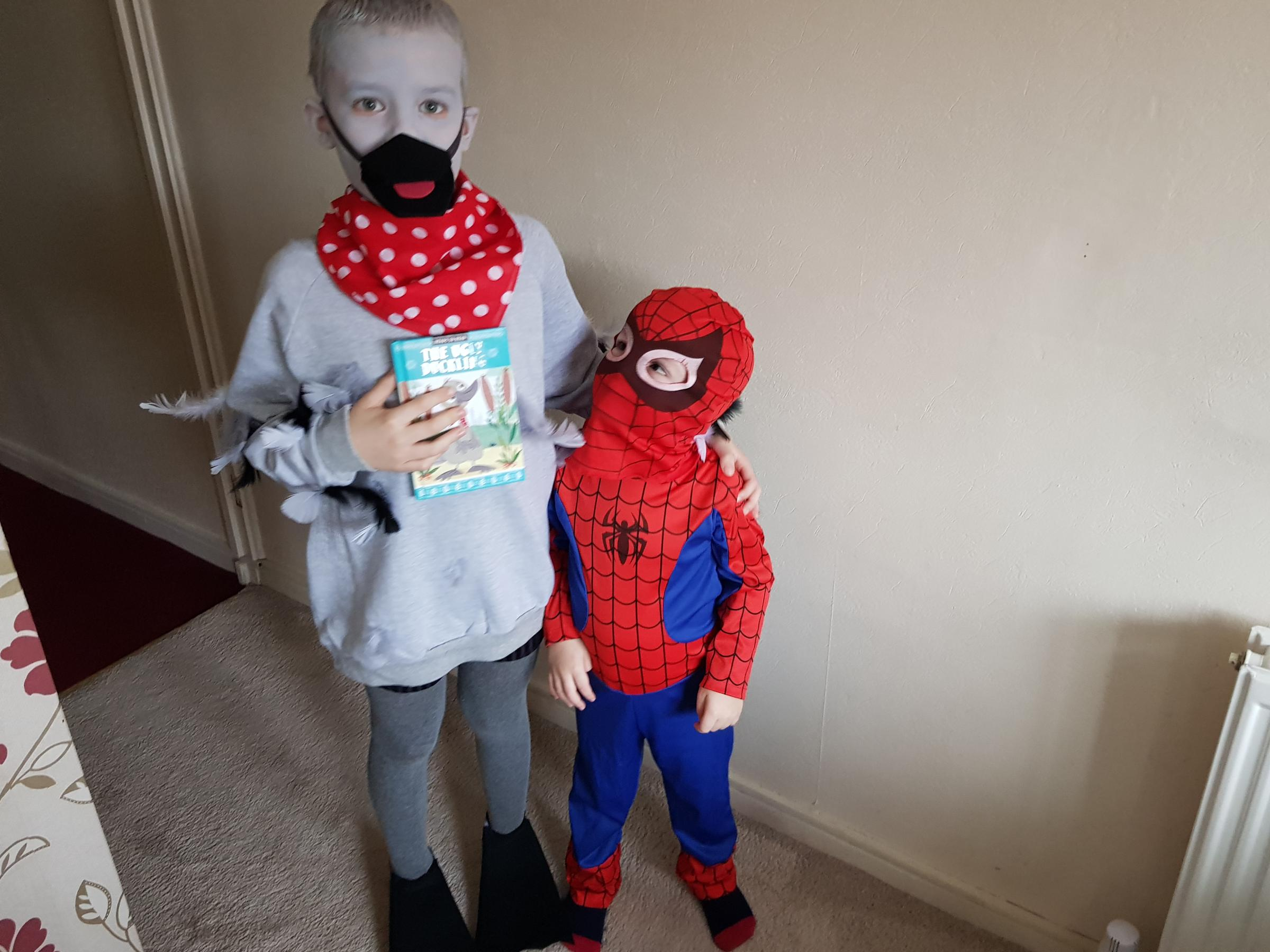 Droitwich Advertiser: The ugly duckling and spiderman