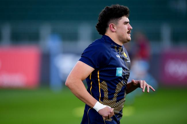 James Scott of Worcester Warriors has joined Glasgow Warriors on loan. Pic: JMP
