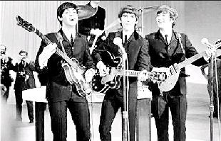 Droitwich Advertiser: STARS: The Beatles performed at King George's Hall, in June, 1963