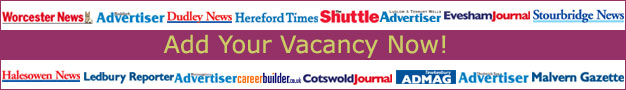 Droitwich Advertiser: Online Job Posting Offer