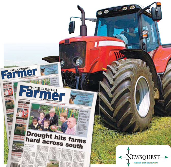 Droitwich Advertiser: tractor