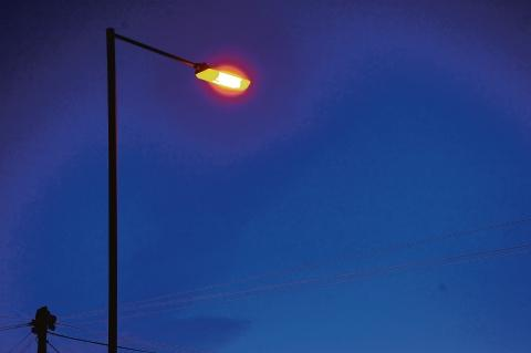 Street lights: going