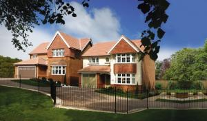 Redrow homes similar to those now on sale at Hamlet Place in Stourport.