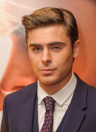 Lady luck smiles on Efron