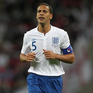 England boss Roy Hodgson does not believe Rio Ferdinand is suited to a squad role