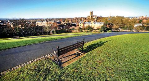 REVAMP: Worcester's Fort Royal Park will be improved if funding is secured.