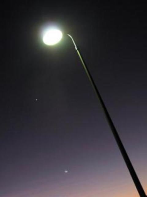 Shine a light! Switching lampposts off would cost a fortune