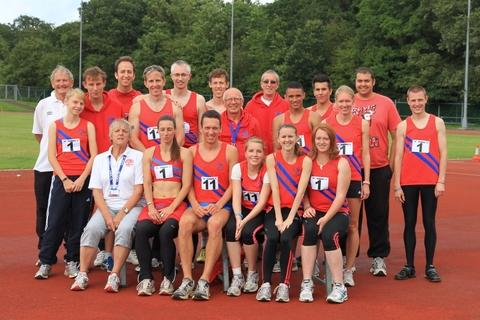 Supreme team: Members of Bromsgrove and Redditch AC were celebrating