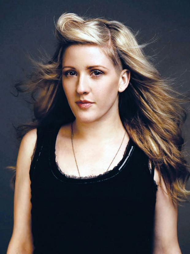 NUMBER TWO: Ellie Goulding is riding high in the USA.