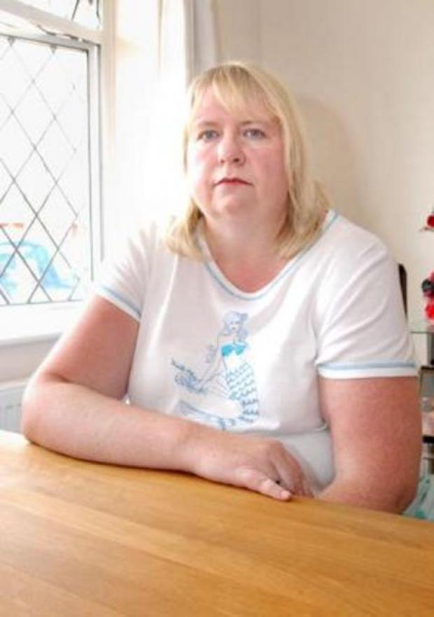 Donella Crisdon says disabled patients are being discriminated against when they park at Worcestershire Royal Hospital.