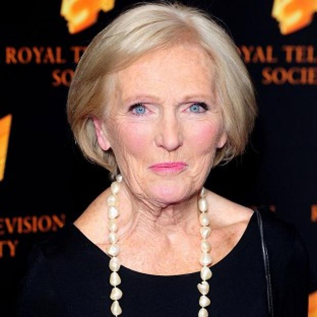 Mary Berry is one of the hosts of The Great British Bake Off