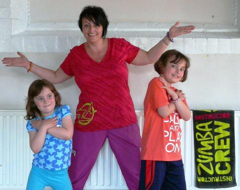 Join the craze: Spa youngsters are being encouraged to attend a new Zumba class being run by instructor Jane Green. Ref:s