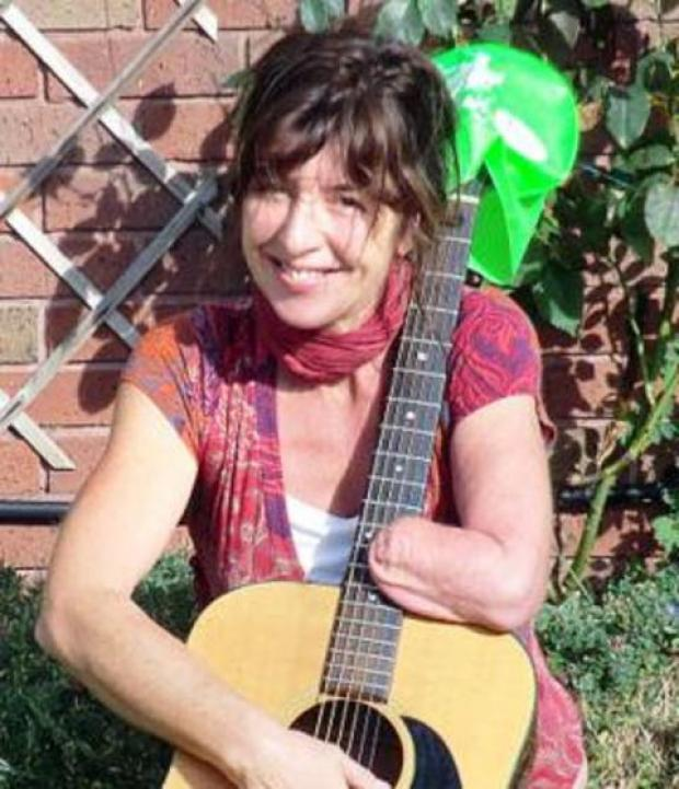 Musician Tina Bridgman is raising cash for charity.