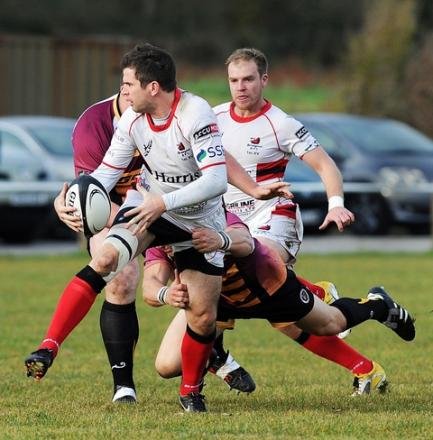 Accurate: Jon Critchlow was in inspired form with the boot in Bromsgrove's defeat. Picture: PETE JEPSON