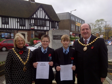 Mayor of Droitwich, Counci