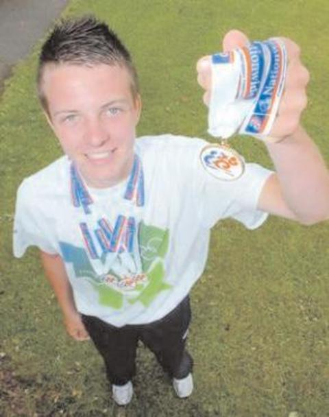 Glenn Scott is one of a number of local people nominated for the county sports awards.