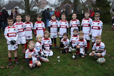 Fine season: Bromsgrove under-8s have reached the finals of two tournaments this season.