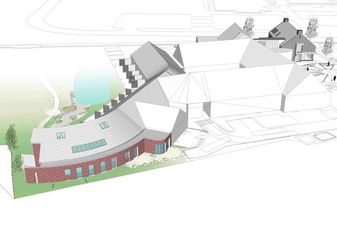 Plans of how the new hospice could look.