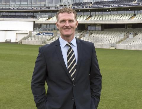 Top Bear: Barnt Green skipper Dougie Brown is the new director of cricket at Warwickshire.