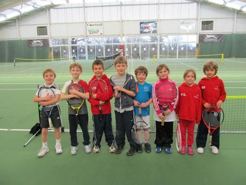 Bromsgrove Tennis Club under-8s Adele Cornilous, Kalion Pavlova, Freya Lawton, Harry Giles, Isaac Bridge, Tom Round, Henry Bower and Patrick Niedwicz have excelled in the Hereford and Worcestershire under-8s league.