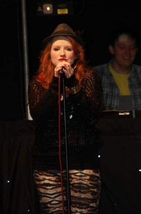 Double ambition: Ambitious singer Fran Kingston, who is appearing at the Norbury Theatre this Saturday, is also aiming to become a fully qualified vet. Ref:s