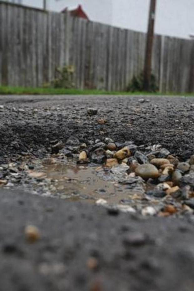 Potholes are springing up all over Worcestershire