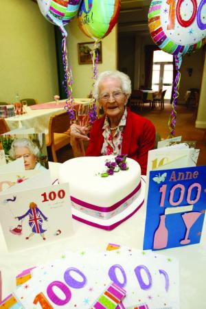 Town centenarian has celebrated birthday on the wrong date all her life