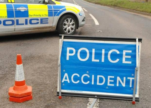 Droitwich Advertiser: Accident closes county road